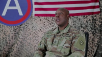 USARCENT Soldier masters education while deployed