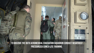 Polish military observes NPC-L training