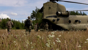 U.S. Army Europe and Africa Best Warrior Competition Flight Operations