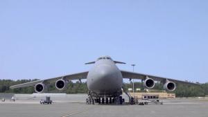 C-5M ground trainer at JBER