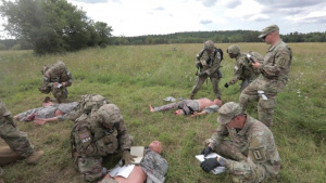 U.S. Army Europe and Africa Best Warrior Competition Medical Evacuation Day Two