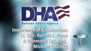 Lt. Gen Place and Command Sgt. Maj. Gragg on Getting Vaccinated