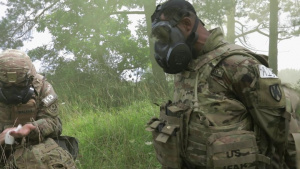 U.S. Army Europe and Africa Best Warrior Competition Chemical, Biological, Radiological, Nuclear and High-Yield Explosives Lane Part 1
