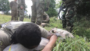 U.S. Army Europe and Africa Best Warrior Competition Chemical, Biological, Radiological, Nuclear and High-Yield Explosives Lane Part 2