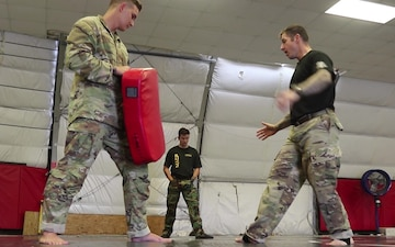 157th Infantry Brigade Tactical Combatives Course Day 1 B Roll