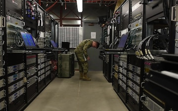 Aircraft communications maintenance enables training mission