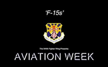 Aviation Week: Day 3 F-15s Part2