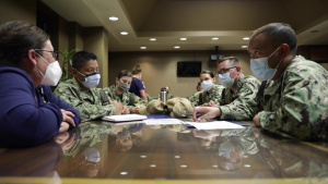 Navy Medical Support Integrates into Local Lafayette Hospital