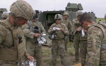 Combat Engineers train with Explosives; Golden Coyote 2021