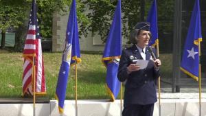Brig. General Meyeraan is promoted to Maj. General