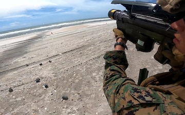 FIM-92 Stinger Live-Fire Training with 2nd LAAD