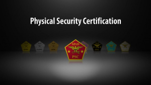 DCSA - CDSE - Physical Security Certification (PSC) Announcement Video