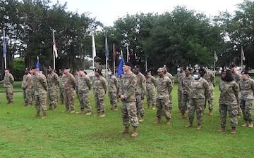 315th Security Forces patch ceremony