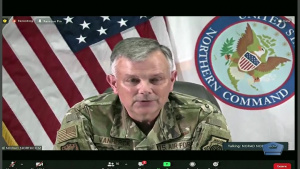 DOD Leaders Brief Media at Pentagon