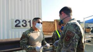Ramstein Air Base Sanitation Measures