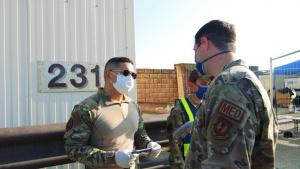 SSgt David Lawson - sanitization checking