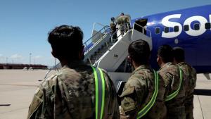 Fort Bliss receives Afghan evacuees