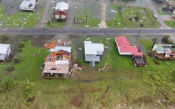 Coast Guard conducts Hurricane Ida post-storm overflights along the Gulf Coast