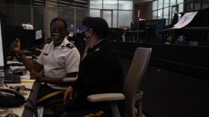 National Guard Coordination Center Hurricane Ida Response Ops