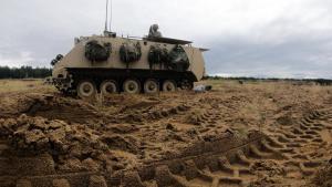 Hoplites conduct mortar training at DPTA