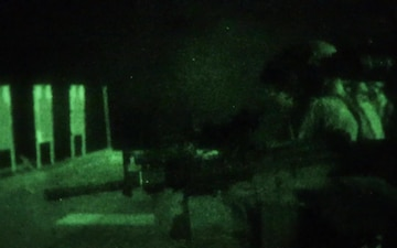 B-Roll: FRP Conducts Night Live Fire Deck Shoot