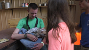 Tyndall EFMP program hosts families at local zoo
