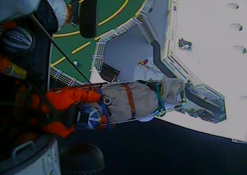 Coast Guard medevacs woman from cruise ship 45 miles from Sitka, Alaska