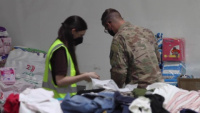 National Guard Soldier Shares Experience Supporting Afghanistan Evacuation Efforts in Kuwait