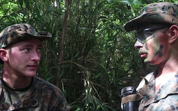 U.S. Marines with the BLT 3/5 Execute Simulated Enemy Attacks