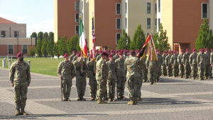 2nd Battalion, 503rd Infantry Regiment, 173rd Airborne Brigade Change of Responsibility Ceremony, Sept. 2, 2021