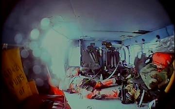Coast Guard Air Station Cape Cod Medevacs fisherman 110 miles south east of Nantucket