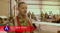Service Members Come Together to Support Afghanistan Evacuation Efforts in Qatar