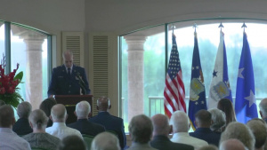 Lt. Col. Richard -Dick- Cole Posthumous Promotion Ceremony