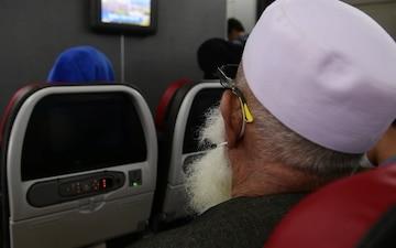 B-Roll Package NAS Sigonella OAR Outbound Flight 3