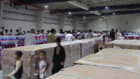 Soldiers Ensure Afghan Evacuees are Well-Fed and Cared for in Qatar