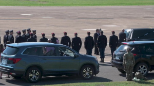 Dignified Arrival of Staff Sgt. Ryan Knauss to McGhee Tyson ANG Base, TN