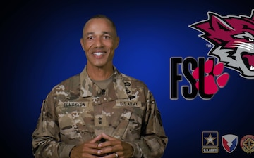 Maj. Gen. Edmonson Welcome Video