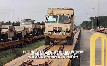 United States Transportation Command Joint Readiness Exercise 2021