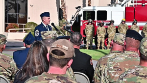 September 11 remembrance ceremony, Nellis AFB