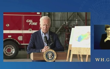 President Biden Delivers Remarks on his Administration's Response to Recent Wildfires