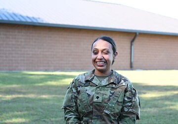 Task Force McCoy Soldier discusses her role in OAW