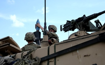 3-67 AR conducts mortar live fire training