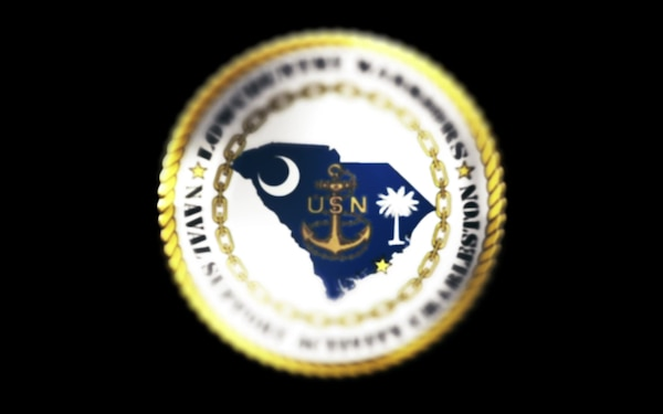 Lowcountry Warriors Naval Support Activity Charleston Logo Animation