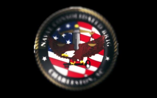 Naval Consolidated Brig Charleston Logo Animation