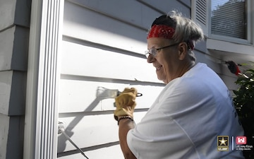 USACE volunteers apply coat of care during 2021 Paint-A-Thon