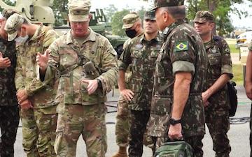 3rd Brigade Combat Team host Brazil Army at JRTC