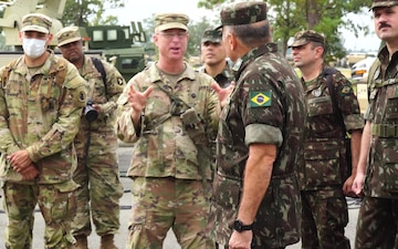 U.S. Army and Brazil join forces at JRTC