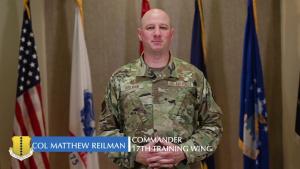 Col. Reilman Community Message on COVID-19