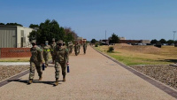 Troop Walk Time Lapse