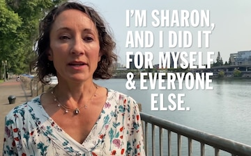 COVID Vaccination Stories - Sharon
